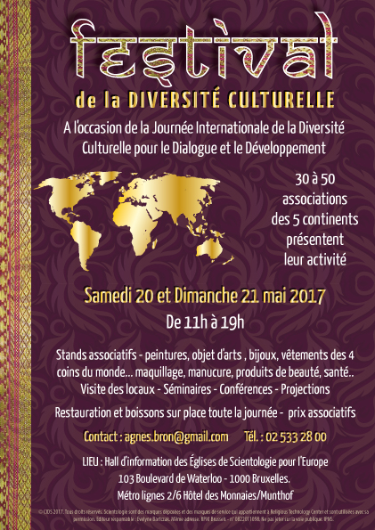 Invitation du festival pour la diversité culturelle 2017