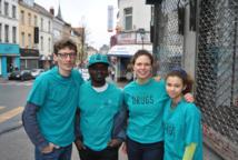 Un stand contre la drogue à Saint Gilles