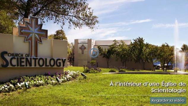 A l'intérieur d'une Eglise de Scientologie