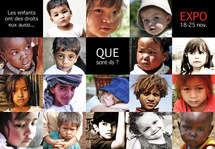 """Exposition """"Les enfants ont des droits eux aussi..."""""""