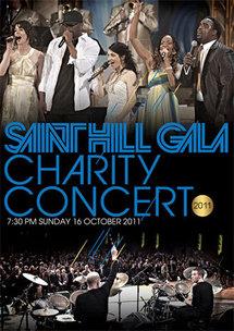 Concert de charité donné à Saint Hill, au Royaume-Uni