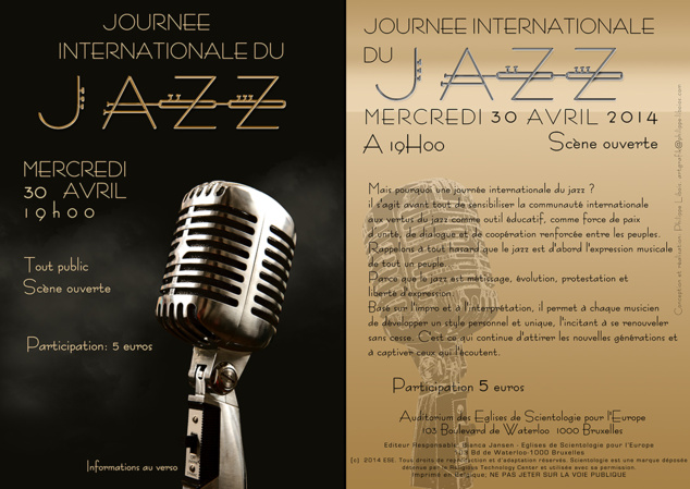 Soirée Jazz aux Eglises de Scientologie pour l'Europe