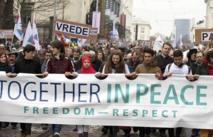 Bruxelles Dimanche 15 mars 2015: Une marche pour la paix