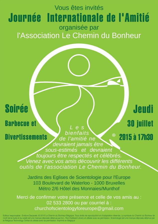 journée Internationale de l'Amitié le 30 Juillet 2015
