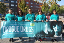 Campagne de prévention contre la drogue à Clemenceau