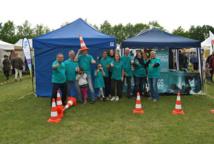 Un stand contre la drogue au Festival Ezperando