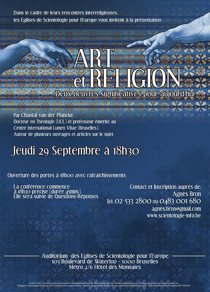 Art et religion jeudi 29 septembre