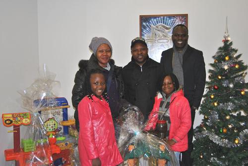 Les enfants perpétuent la tradition de Noël