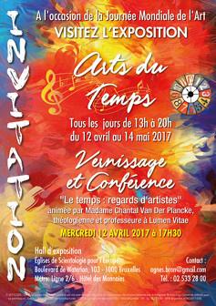 """""""Arts du Temps"""" Une exposition pour célébrer la Journée mondiale de l'art"""