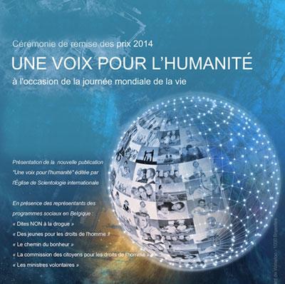 """Journée Mondiale de la Vie: """"Une Voix pour l'Humanité"""""""