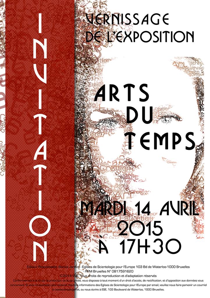 Vernissage de l'exposition ARTS DU TEMPS