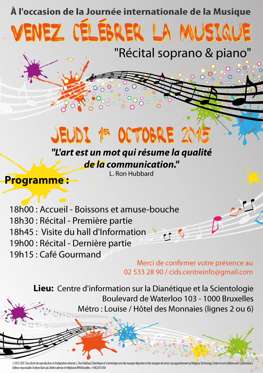 Journée Internationale de la Musique