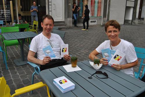 La campagne Paix et Solidarité continue à Molenbeek