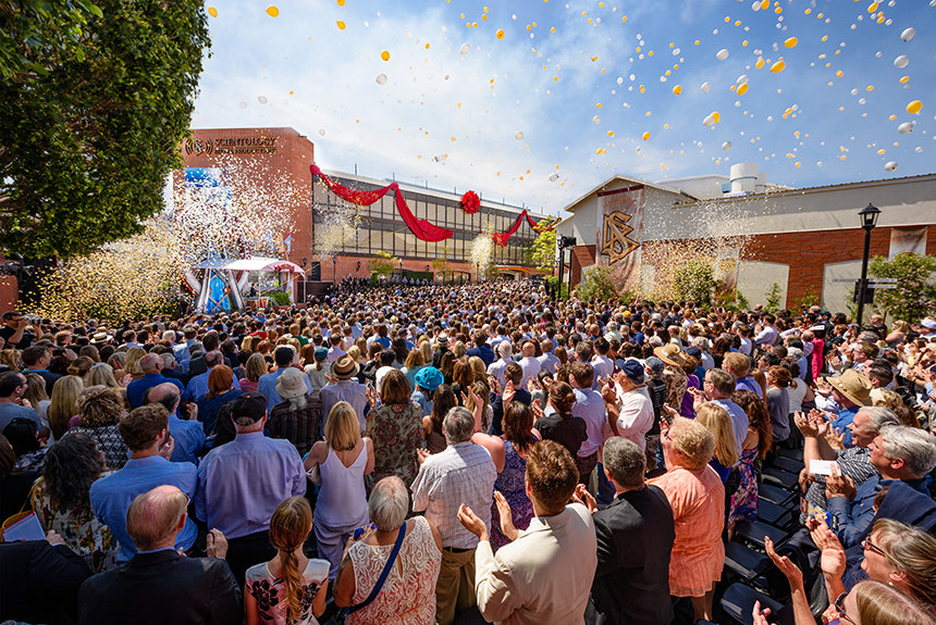 Inauguration de Scientology Media Production