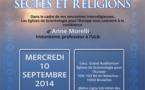 rencontres  interreligieuses mercredi 10 septembre 2014