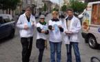 """La campagne """"Paix & Solidarité"""" continue à Molenbeek"""